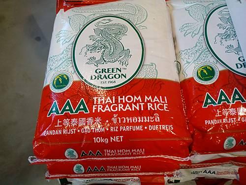 thai hom mali rijst