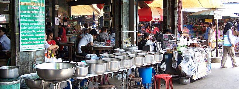 eten en gebruiken in thaise restaurants