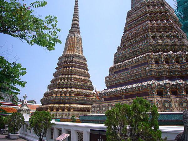 wat pho tempel in Bangkok