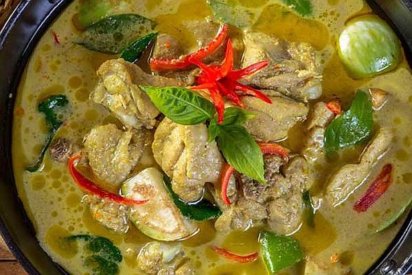 thai groene kipcurry
