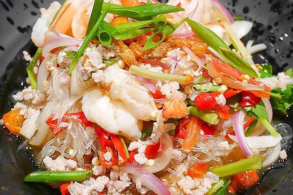 glasnoedels salade